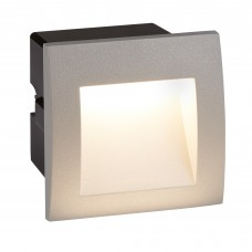 Ankle Led Indoor/Outdoor Recessed Square, Grey