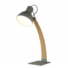 Nanna Table Lamp, Ash Wood, Matt Grey