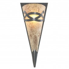Wall Light - Brown Wall Washer - Scavo Glass