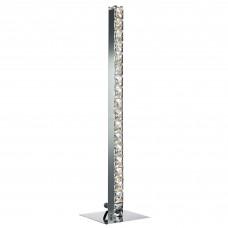 Clover - Led Table Lamp, Chrome, Clear Crystal Glass