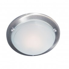 Flush Satin Silver 30Cm Flush Fitting
