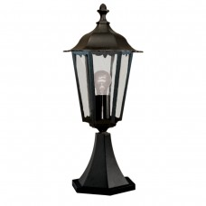Alex Outdoor Post Lamp - Small 1 Light Black  Ht55