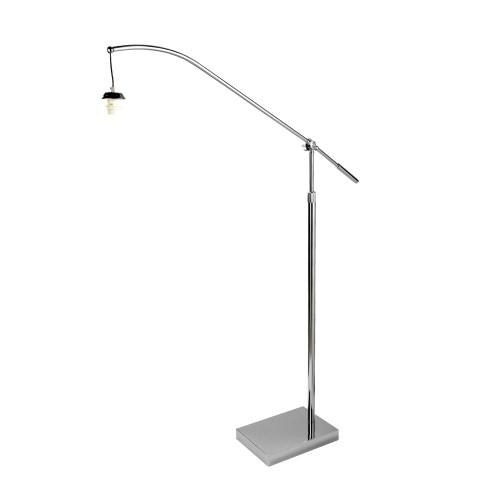 Swing Arm Xl Frame Only Arc Arm Floor Lamp Chrome