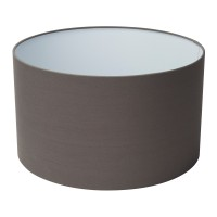 Swing Arm Xl Shade Only - Grey Drum Shade (Dia 40Cm)