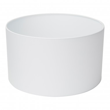 Swing Arm Xl Shade Only - White Drum Shade (Dia 40Cm)
